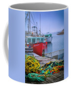 Colorful Wharf Coffee Mug