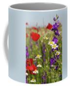 Colorful Wild Flowers Nature Spring Scene Coffee Mug