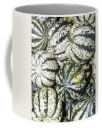 Colorful Winter Acorn Squash On Display Coffee Mug