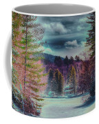 Colorful Winter Wonderland Coffee Mug