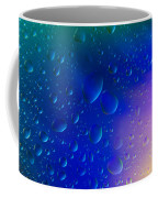 Colorfull Water Drop Background Abstract Coffee Mug