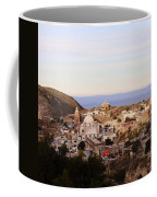 Colorfusk Dusk Sky Over A Typical Mexican Town Coffee Mug