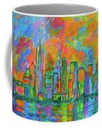 Coloring The Big Apple Coffee Mug
