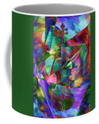Colors And Geometries For A Violin  Coffee Mug