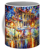 Colors Of Emotions - Palette Knife Oil Painting On Canvas By Leonid Afremov Coffee Mug