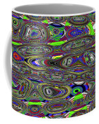 Colors Rolled And Flattened Abstract Coffee Mug