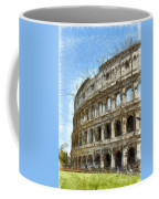 Colosseum Or Coliseum Pencil Coffee Mug