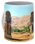 Colossi Of Memnon Coffee Mug