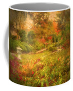 Colour Explosion In The Japanese Gardens Coffee Mug