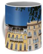 Colourful Facade Of Traditional Buildings In Como, Italy Coffee Mug