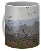 Colourful Flying Chaos Coffee Mug