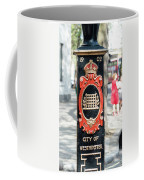 Colourful Lamp Post With The City Of Westminster Coat Of Arms London Coffee Mug
