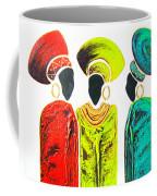 Colourful Trio - Original Artwork Coffee Mug
