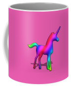 Colourful Unicorn In 3d Coffee Mug