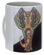 Colours In An Elephant Coffee Mug