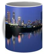 Colts Blue Hour Night Coffee Mug