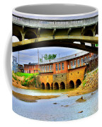 Columbia Canal At Gervais Street Bridge Coffee Mug by Lisa Wooten