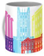 Columbia Mo Skyline Pop Coffee Mug