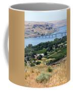 Columbia River And Biggs Bridge Coffee Mug