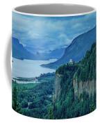 Columbia River Gorge Panoramic Coffee Mug