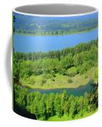 Columbia River Gorge View Coffee Mug