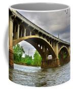 Columbia S C Gervais Street Bridge Coffee Mug