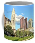 Columbus From The Park Coffee Mug