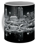 Columbus Ohio Black And White Coffee Mug