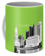 Columbus Ohio Skyline - Olive Coffee Mug