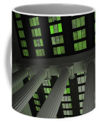 Column Stain Green Coffee Mug