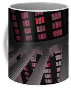 Column Stain Red Coffee Mug