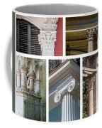 Columns Of New Orleans Collage Coffee Mug
