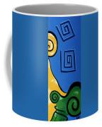 Columns Right Side Coffee Mug