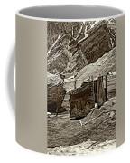 Comfort Station Sepia Coffee Mug