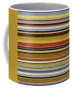 Comfortable Stripes Vl Coffee Mug by Michelle Calkins