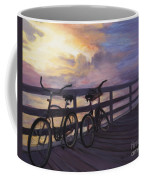 Coming And Going By Marilyn Nolan- Johnson Coffee Mug