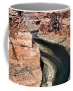 Coming Around Horseshoe Bend Page Arizona Colorado River  Coffee Mug