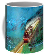 Coming Through The Tunnel Coffee Mug