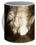 Coming Up The Drive 3 Coffee Mug