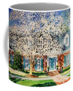 Commissioned House Portrait  Coffee Mug