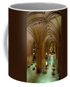 Commons Room Cathedral Of Learning - University Of Pittsburgh Coffee Mug by Amy Cicconi