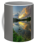 Community Lake #8 Sunset Coffee Mug