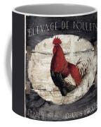 Compagne IIi Rooster Farm Coffee Mug