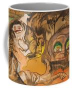 Composition Green Eye Coffee Mug