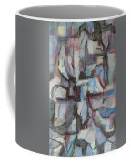Composition In Blue 1 Coffee Mug