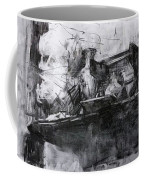 Composition With A Statue Coffee Mug