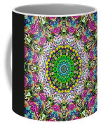 Concentric Colors Abstract Coffee Mug