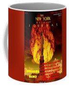 Concept Magazine Cover For The Imaginary New York Weekend Journal 5 Jan 2018 V2 Coffee Mug