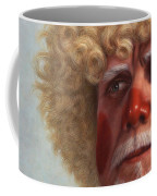 Concerned Coffee Mug by James W Johnson
