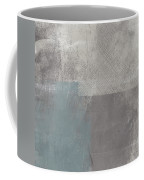 Concrete 3- Contemporary Abstract Art By Linda Woods Coffee Mug